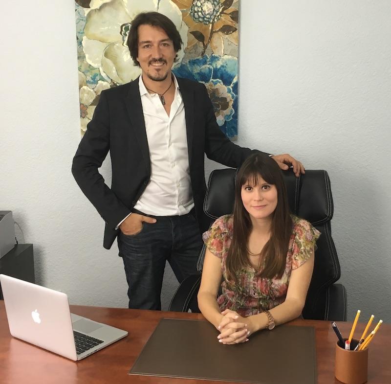 Los psicólogos de Valencia Fernando Pena y Estefanía Cárcel
