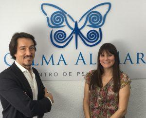 Fernando Pena y Estefanía Cárcel. Psicólogos en Valencia