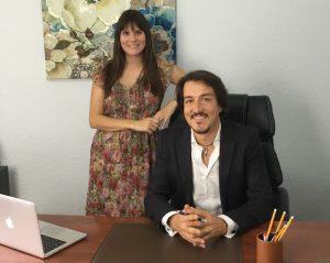 Estefanía Cárcel y Fernando Pena, psicólogos en valencia