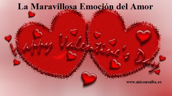 La maravillosa emoción del amor