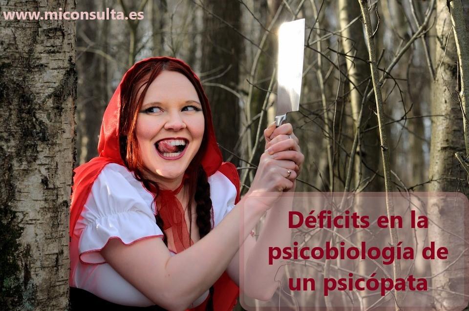 Psicopatía.