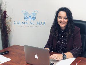 Andrea Mezquida. Psicóloga del Centro de Psicología Calma Al Mar.