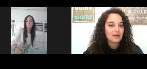 Entrevista a Lara Horcajo por la psicóloga Andrea Mezquida.